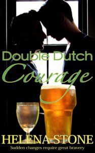 Book Cover, Double Dutch Courage by Helena Stone