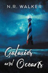 Book Cover, Galaxies and Oceans by N.R. Walker