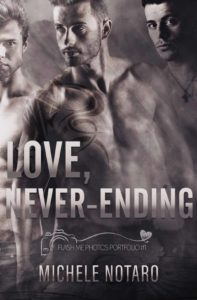 Book Cover, Love, Never-ending by Michele Notaro