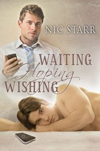 Book Cover, Waiting Hoping Wishing by Nic Starr