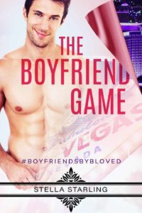 gay romance book cover of The Boyfriend Game by Stella Starling